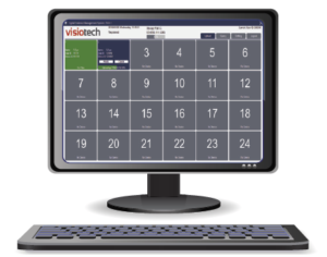 VisioTech DEMS Docking station computer with keyboard